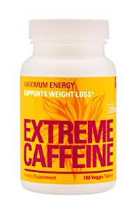 Trim Labs Premium Extreme Caffeine 200mg 100 Count by Trim Labs