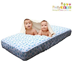 Baby Crib Sheet for Boy or Girl. Infant Crib Sheets are Soft & Breathable. Fitted Crib Sheets for Baby Shower Gifts. Baby Crib Fitted Sheets fits Pack n Play, Bassinet Bedding Sheets, Toddlers Sheets.