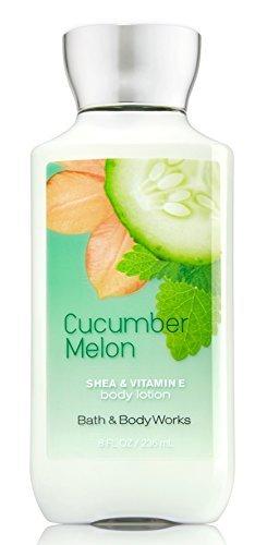 Bath & Body Works Shea & Vitamin E Lotion Cucumber Melon 8 oz (8 ounces)