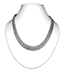 Rhodium plated Alloy Chain,Color-Silver-New