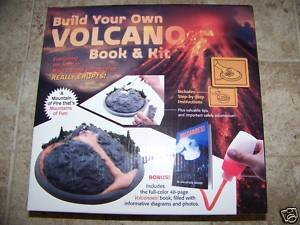 BUILD YOUR OWN VOLCANO BOOK & KIT