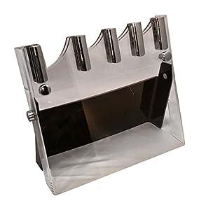 moichef ceramic knife set block acrylic knife holder block display your. Black Bedroom Furniture Sets. Home Design Ideas