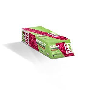 Probar Bolt, Organic Energy Chews, Raspberry w/ Caffeine, 2.1 Ounces, (12 Count)