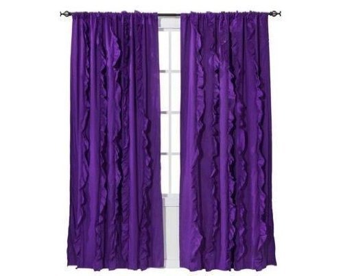 xhilaration-light-blocking-window-panel-purple-with-ruffles-50-x-84-one-window-panel-by-xhilaration