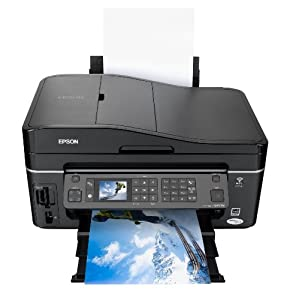 Epson Stylus SX610FW All In One Printer (Individual Inks, Integrated Wi-fi, Fax and ADF)