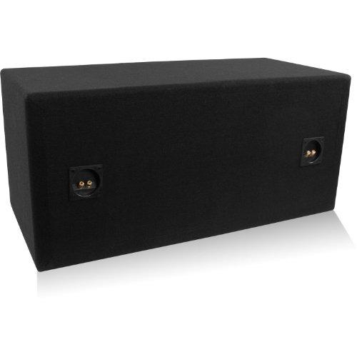 "Belva Bbx212Bk Dual 12"" Ported Enclosure Custom Black Baffle"