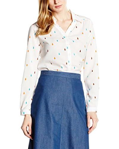 Nife Camisa Mujer Blanco / Multicolor M (EU 38)