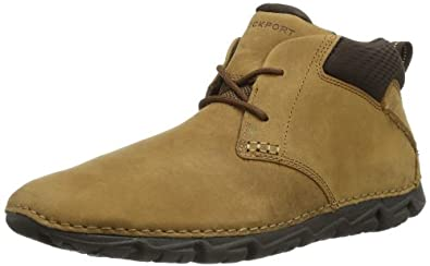 Rockport Mens Rocsports LT2 Chukka Boots V77717 Deer Tan 7 UK, 40.5 EU, 7.5 US, Wide