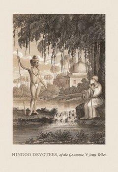 Hindoo Devotees by Baron de Montalemert