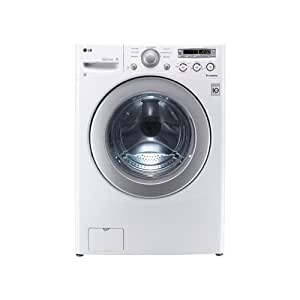 LG WM2250CW 3.5 Cu. Ft. White Stackable Front Load Washer - Energy Star