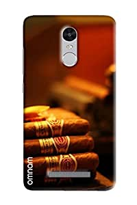 Omnam Bunch Of Cigar Printed Designer Back Cover Case For Xiaomi Redmi Note 3