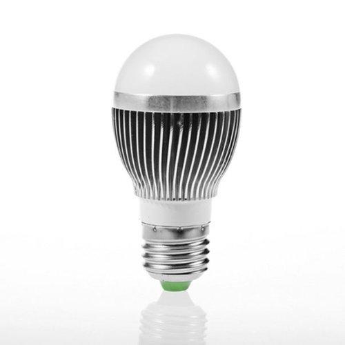 Hot 85-265V 7W E27 Smd 5630 Led White Bulb Light Street Bulbs Ball Steep Lamp