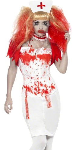 Smiffys Bloody Zombie Nurse Adult Scary Halloween Costume