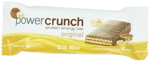 Power Crunch Protein Energy, Peanut Butter Fudge Butter Fudge, 1.4-Ounce Bar (Pack of 12) (Protein And Energy compare prices)