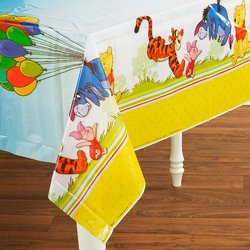 Winnie the Pooh & Pals Plastic Party Tablecover (Winnie Pooh Table compare prices)