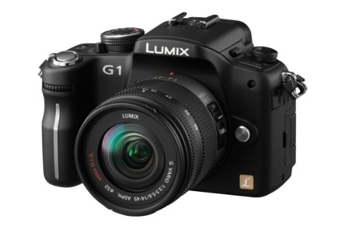 Panasonic Lumix G1 Compact System Camera Kit - Black (12.1MP)