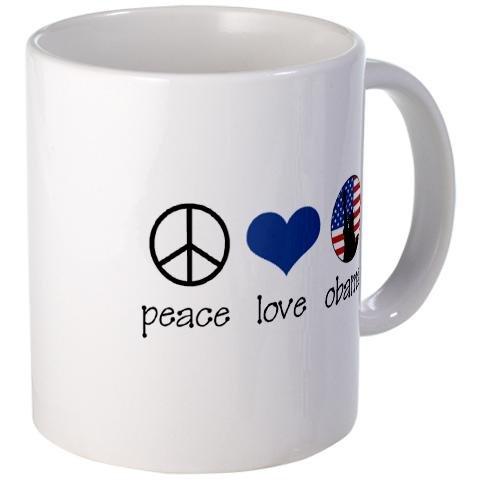 Cafepress Flower Power Peace Mug - Standard