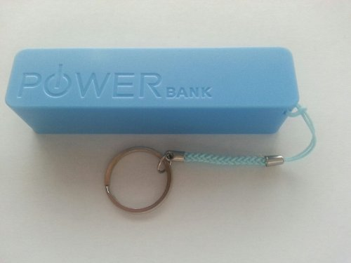 Power Bank External Battery Charger L Battery Charger By Power Bank For Iphone 5S, Galaxy S4 (Blue)