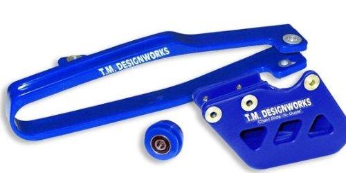 T.M. Designworks Dirt Cross Multi-Purpose Chain Slide-N-Guide Kit Fe1 Guide - Blue Ycp-Or1-Bu