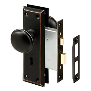 Prime Line Products E 2495 Mortise Lock Set Keyed