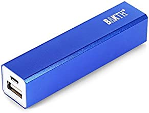 BAKTH 3200mAh USB Portable Power Bank for Smart Phones- Blue