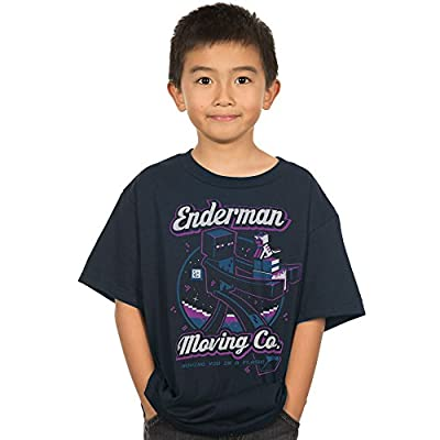 Minecraft Enderman Moving Company Youth Tee