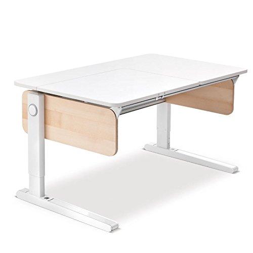 Moll Champion Style Left Up Schreibtisch | Birke Multiplex | 120 x 72 x 53-82 cm (Breite x Tiefe x Höhe) | höhenverstellbar günstig kaufen