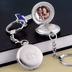 Personalized Pocket Watch Key Chain Locket