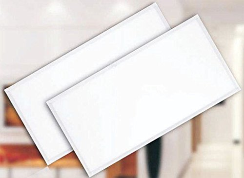 5Star Light UL Listed 2x4Ft 80W(200W Equivalent) 6000K, 6800 Lumens Professional Grade Metal Frame LED Panel Light Super Bright Ultra Thin Glare-Free (2x4(2-pack), DayLight White) (Led Light Panel Ceiling compare prices)