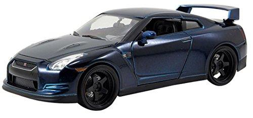 Jada Toys Fast & Furious 1:24 Diecast  Nissan GTR, Blue (Rc Die Cast compare prices)
