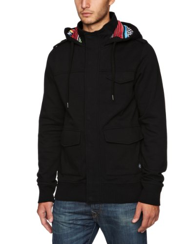 Iron Fist El Muerto Duffle Hoody Men's Jumper Black Medium