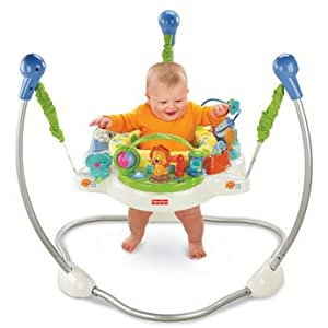 Dazzling fisher price animals of the world jumperoo for Door jumperoo