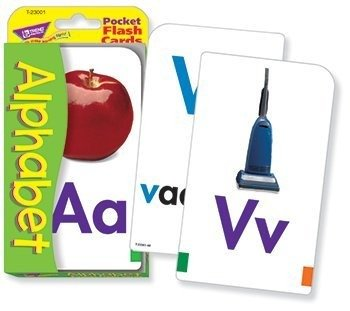 Trend Enterprises Alphabet Pocket Flash Cards - 1