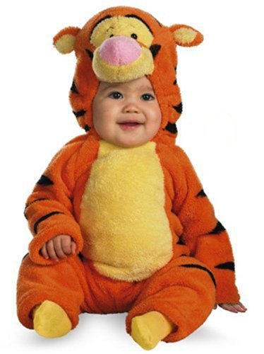 Tigger Deluxe Two-Sided Plush Jumpsuit Costume (12-18 Months) front-531851