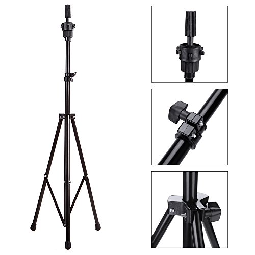 Abody Wig Mannequin Head Tripod Stand with Carry Bag for Cosmetology (Mannequin Stand Tripod compare prices)