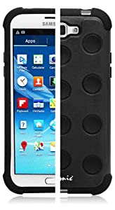 Ionic GUARDIAN Armor Case for Samsung Galaxy Note II Note 2 N7100 (Black)