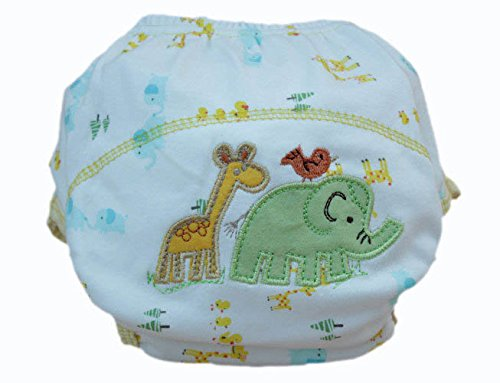 Animal Baby Diaper Cotton Waterproof Nappies Summer Training Pants For Toddler Boys Girls Baby Clothes Nappy front-920559