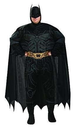 Batman The Dark Knight Rises Adult Batman Set, Black, Plus