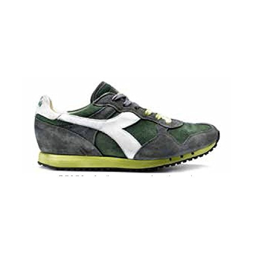 Diadora Heritage scarpa sneaker da uomo multicolore Verde 42.5