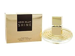 Heidi Klum Shine Eau De Toilette Spray for Women, 1.7 Ounce