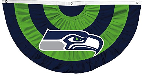 NFL-Team-Celebration-Bunting-Pleated-Flag-NFL-Team-Seattle-Seahawks