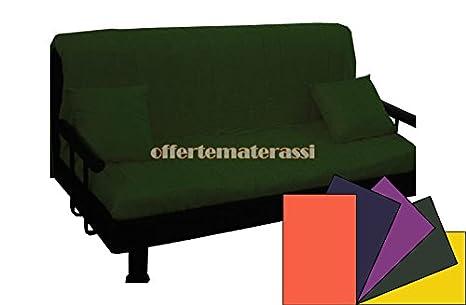 Sofá prontoletto gruñón Plaza y Media completo de reposabrazos y respaldo Tubular