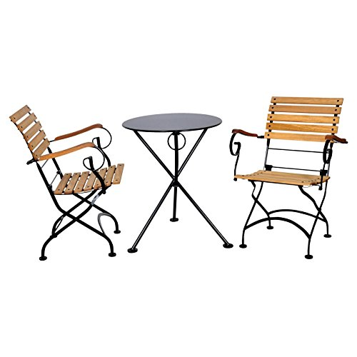 Furniture designhouse french bistro european 3 leg caf for Outdoor furniture europe