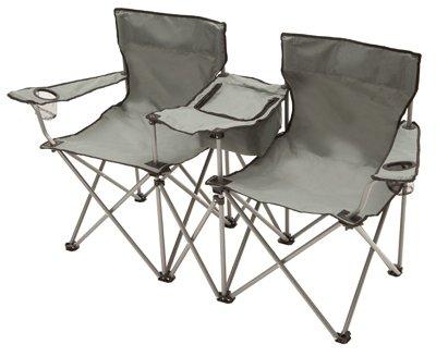 Smr Company Llc Dqwc-Tv Four Seasons, Gray, Double Quad Chair