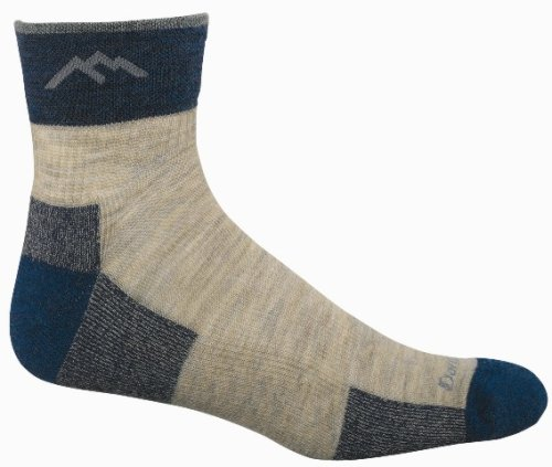 Darn Tough Vermont Merino Wool 1/4 Cushion SockDarn Tough Vermont Merino Wool 1/4 Cushion Sock