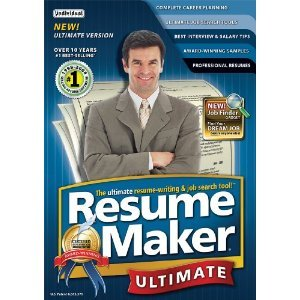 Resumemaker Professional Ultimate 4