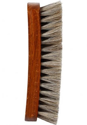 Woly Woly W. Genuine Horse Hair Shoe Brush (Blue)