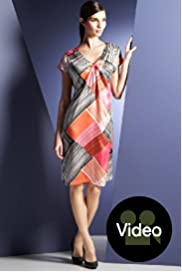 Autograph Exclusives Pure Silk Check Print Dress