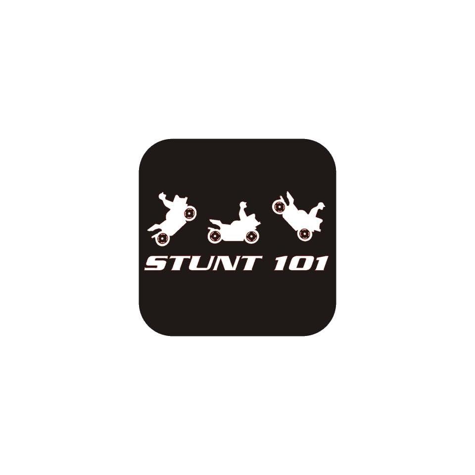 Stunt 101 funny Vinyl Die Cut Decal Sticker