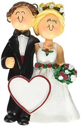 Male/Female Blonde Wedding Couple Figurine
